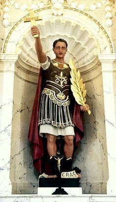 Saint of the Day – 19 April – St Expeditus (Died Martyr – Roman Centurion, Martyr – Patronages – emergencies, expeditious solution, against procrastination, Folk Religion, Catholic Religion, Catholic Saints, Patron Saints, Roman Catholic, Roman Centurion, Roman Soldiers, Taurus And Gemini, Persecution