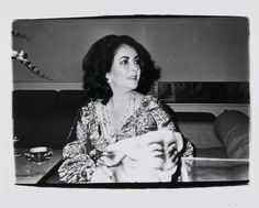 Bid now on Elizabeth Taylor by Andy Warhol. View a wide Variety of artworks by Andy Warhol, now available for sale on artnet Auctions. Andy Warhol Photography, Avant Garde Film, Andy Warhol Art, Bizarre Photos, Consumer Culture, Chelsea Girls, Fashion Tape, Pose For The Camera, Elizabeth Taylor