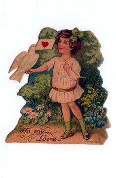 Victorian Valentines, Vintage Valentines, Paper Stand, Tonka Toys, White Doves, Old Paper, Love Letters, Vintage Books, Paper Dolls