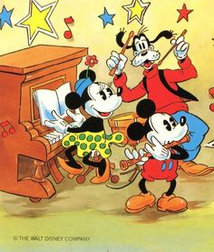 ♥ Mickey & Friends Vintage ♥