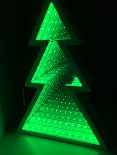 Tree Infinity Mirror contact me to learn more details az@trendecorlight.com Led Infinity Mirror, Infinity Lights, Infinity Table, Led Projects, 3d Mirror, Birth Flowers, Ball Lights, Mirror With Lights, Picture Design