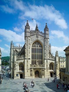 Bath Abbey, Somerset, England by Heritage Lottery Fund