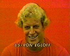 "Head shot of tight end RON EGLOFF (85) on ""Monday Night Football""--September 11, 1978"