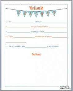 """A """"Pick-Me-Up"""" in a Jar {Teacher Gift with FREE Printables!} - Just a Girl and Her Blog"""