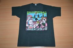 Vintage 1993 GREEN JELLY Anarchy in the Uk Tour Concert promo rare XL Size 80s T-shirt by OldSchoolZone on Etsy