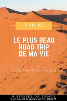 Road trip en Namibie, entre animaux sauvages et désert du Namib Tongs, Blog Voyage, Never Stop Exploring, Destinations, Land Scape, The Good Place, Africa, My Love, Amazing Places