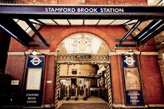 Stamford Brook tube station