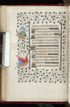 Book of Hours, MS M.919 fol. 41v - Images from Medieval and Renaissance Manuscripts - The Morgan Library & Museum