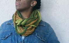 Crochet Rope Scarf  3 piece Set by glaccessories on Etsy, $35.00