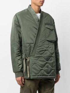 Maharishi Light-weight Pull-over Jacket In Green Military Fashion, Mens Fashion, Mens Lightweight Jacket, Rare Clothing, Mode Mantel, Mens Style Guide, Japanese Outfits, Kimono Jacket, Japan Fashion