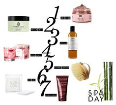 """At Home: Spa Day"" by mariannamic ❤ liked on Polyvore featuring beauty, Kiehl's, Orla Kiely, Noble Isle, Hydrea London, KERANIQUE, Eve Lom, Beauty, spa and spaday"