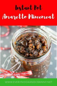 Instant Pot Amaretto Mincemeat