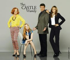 Castle family ~ Love the edit! Castle Tv Series, Castle Tv Shows, Best Tv Shows, Favorite Tv Shows, Minions Funny Images, Minions Quotes, Funny Minion, Funny Jokes, Nathan Fillon