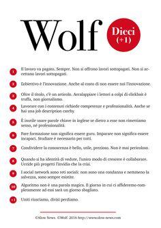 decalogo Wolf