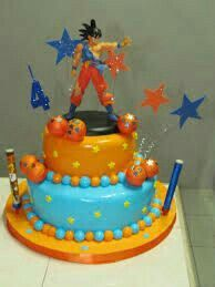 Fiesta Dragonball Dragon Ball Z, Dragonball Z Cake, Clem, 30th Party, Ball Birthday, Cakes For Men, Sweet Cakes, Party Cakes, Holidays And Events