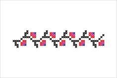 Semne Cusute: MOTIVE: suvoiul (varianta 7) am gasit acest motiv in iulie 2012, in Basarabia, regiunea Codru, zona Nisporeni, prezent sub diferite forme, pe camasa de mire, de mireasa si pe stergare, cusute in jurul anului 1950.