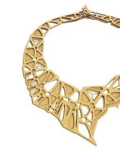 Saroj Jewelry | #SBODIO32 2015  #design #laser #fashion #necklace #valentinesgift #fuorisalone #salonedelmobile #sbodio32 #lambrate365 #art #architecture #interior #industrial #innovation #installation #technology #wearabletechnology #digitalfabrication #computationaldesign #parametricdesign #3dprinting #makers #finland #helsinki #designmiami by sbodio32