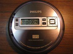 Philips MP3-CD Portable CD Player/ Walkman EXP2550