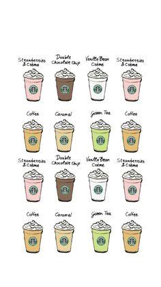 [おしゃれ]スターバックスコーヒー15 iPhone壁紙 Wallpaper Backgrounds iPhone6/6S and Plus  Starbucks