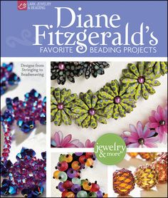 LIVRO-Diane Fitzgerald's Favorite Beading Projects - Jewelry and More- análise crítica no site de Mortira