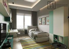 DE&DE/Residence in shades of blue on Behance