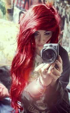 Red hair color <3