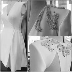 Busy week ahead. #makingoff an exquisite #white #dress #parlordress #demicouture #handmade #design #romaniandesigners #atelier #embroideries #silk #details #cool #mix