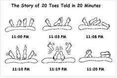 Story Of Toes Described In 20 Minutes