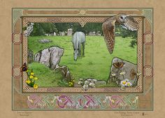 THE GRANGE STONE CIRCLE > Irish Sites: by Jeff Fitzpatrick Adams @ Irish Celtic Illuminations > http://www.irishcelticilluminations.com/ > http://www.facebook.com/IrishCelticIlluminations