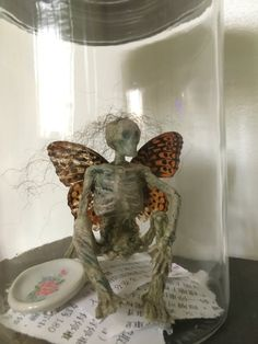 Your place to buy and sell all things handmade Halloween Crafts, Halloween Ideas, Halloween Decorations, Dark Fairies, Sideshow, Samhain, Skeletons, Faeries, Curiosity