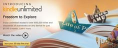 Amazon has officially announced Kindle Unlimited, a new e-book and audiobook subscription service that offers unlimited access to over 600,000 Kindle e-book titles, along with access to thousands of Audible audiobooks for $9.99 a month.