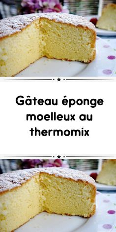 Soft sponge cake with thermomix a delicious soft orange cake fondant for your taste you find here the easiest recipe to prepare it at home with your thermomix. Dessert Thermomix, Napoleon Cake, Buckwheat Cake, Seafood Platter, Cake Trends, Sponge Cake, Food Cakes, Savoury Cake, Fondant Cakes