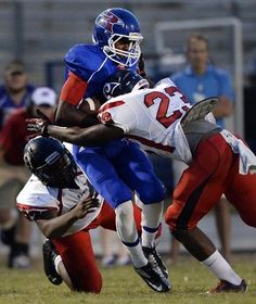 Ouch! Check out some of the best hits in Upstate high school football.
