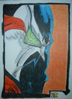 Spawn - FanArt by Mixmax3d.deviantart.com on @DeviantArt #draw #drawing #fanart #image #pencil #penciling #spawn