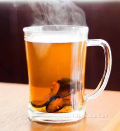 Bael Fruit Tea Recipe- I fell in love with this tea in Thailand; it was first served to me after a massage!