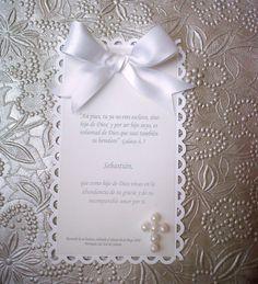 Poemas De Bautizo Catolicos | La cajita combinada en blanco con perlas, funciona como souvenir y ...