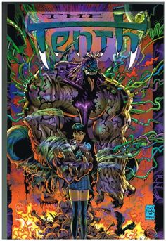The Tenth First Print Tony Daniel Cover Comic Book Artists, Comic Book Heroes, Comic Books Art, Old Comics, Comics Girls, Image Comics Characters, Comic Book Covers, Cool Cartoons, Comic Character