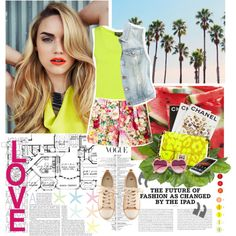 """Summer is on his way..."" by stylechampion-cl on Polyvore"