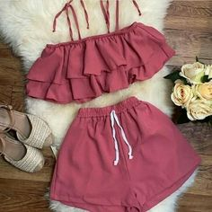 Cute Outfits For Kids, Cute Casual Outfits, Simple Outfits, Outfits For Teens, Stylish Outfits, Lit Outfits, Retro Outfits, Girls Fashion Clothes, Teen Fashion Outfits