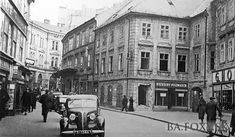 Bratislava, Old Street, Old Photos, Street View, Times, Squares, Motorcycles, Cars, Pictures