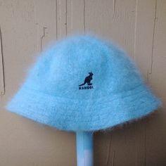 814da89f0af14a FRONT 90s fuzzy bb blue KANGOL bucket hat SHOP TELEPATHY ...