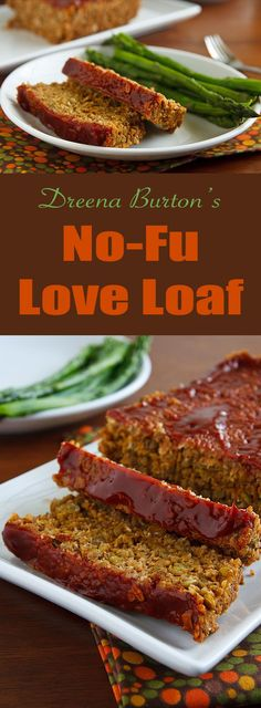 There's no tofu in this vegan lentil and grain-based loaf. And you will LOVE it!