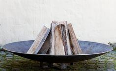 Rohstahl Feuerschalen - Holz-Jaeger - Tropenholz für Ihre Terrasse