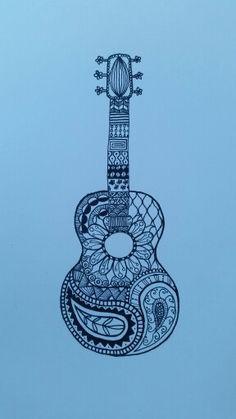 Guitar Tattoo, Guitar Art, Guitar Logo, Music Tattoos, Body Art Tattoos, Tatoos, Christian Drawings, Music Drawings, Quilling Patterns
