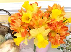 Tulips and Daffodils for Easter