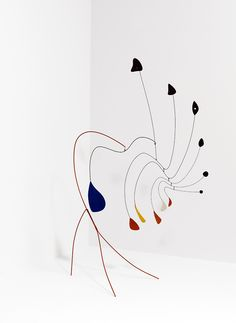 Alexander Calder - Le Demoiselle, 1939, sheet metal, wire and paint