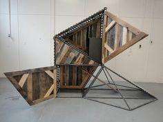 fabriquer poulailler design original en bois palette