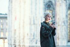 Una raccolta di fotografie dei look e outfit più stravaganti presenti alla milano Fashion Week 2017- Paolo Ilardi fotografo