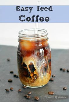 Enjoy your favorite iced coffee flavors at home for a fraction of the cost with these easy directions on how to make iced coffee. Enjoy!