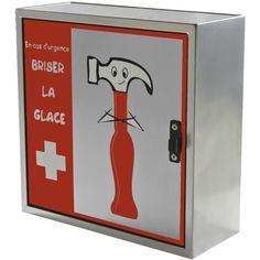 Armoire Boite à Pharmacie Rangement Médicaments Design Fun Secours 30€